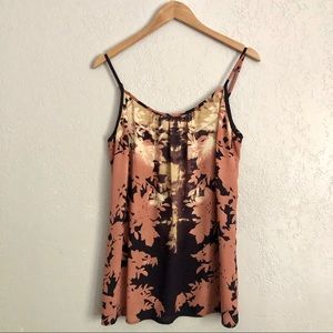 CAbi #553 Floral Shadow Tank Size Large